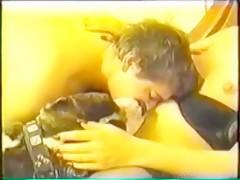 Lupe y Jessi con un cabrón afortunado