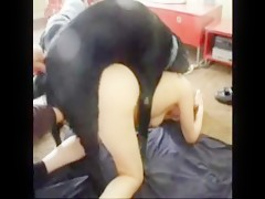 Young cock-swallowing pussy