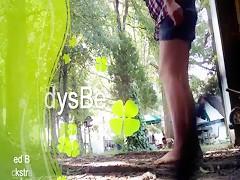 Lenceria verde para el chucho